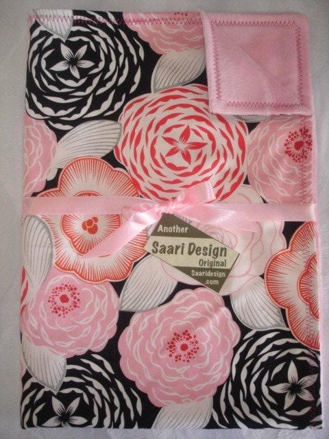 Veronique Floral Boutique Baby Blanket