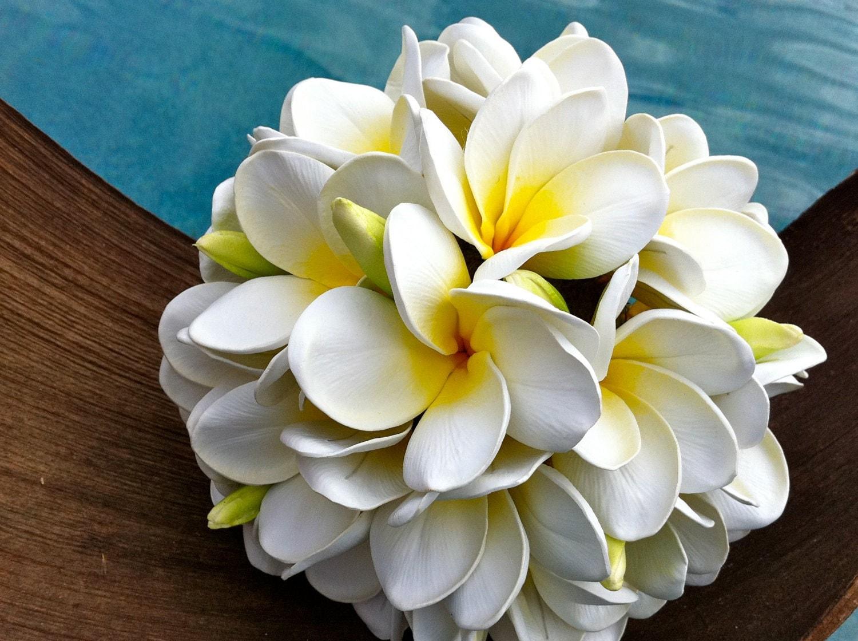 Plumeria Frangipani Bouquet