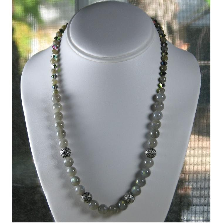 Lustrous Labradorite Necklace with Free Shipping