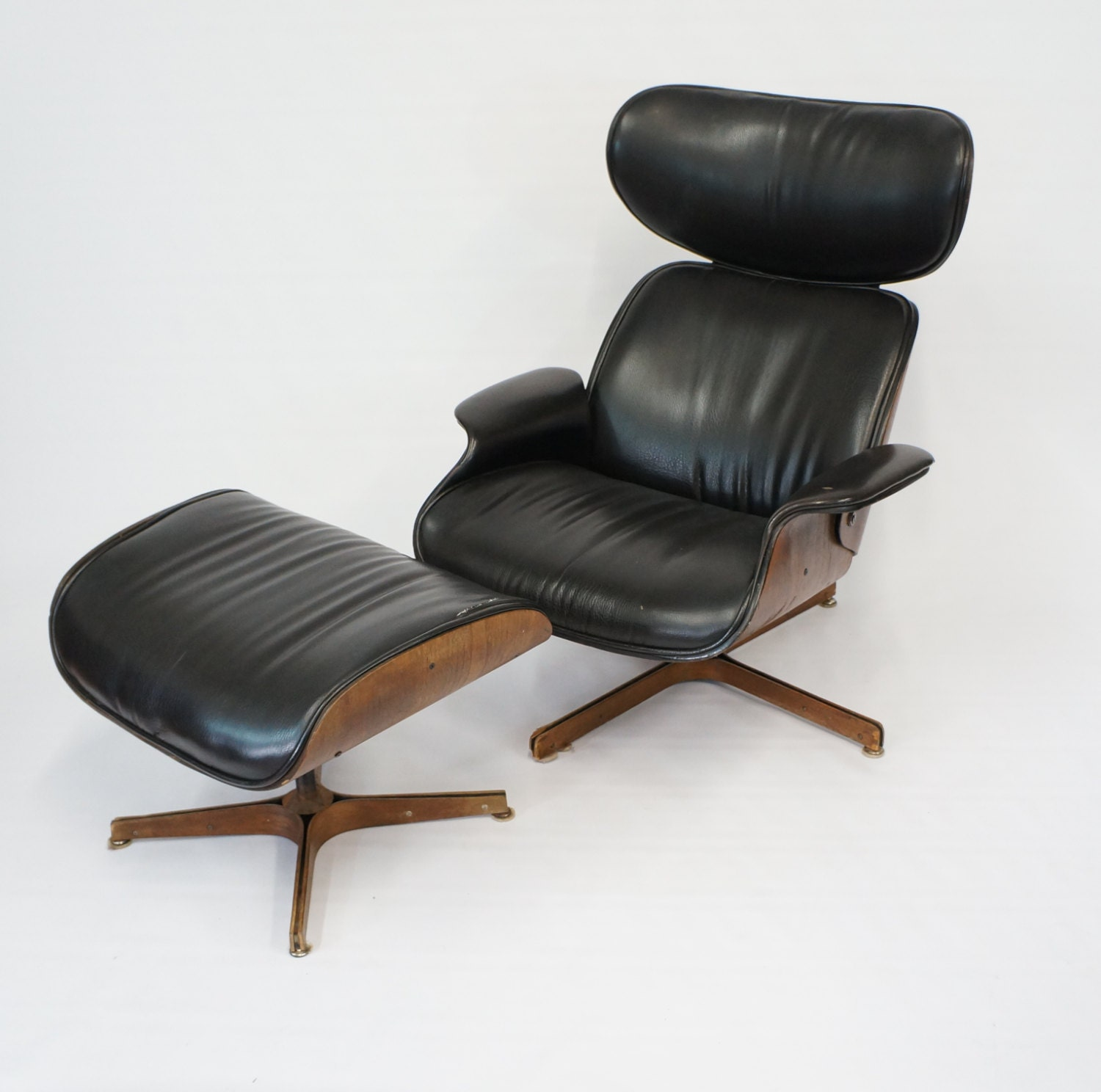 Mid Century Modern Plycraft lounge Mr Chair with by Gredesign