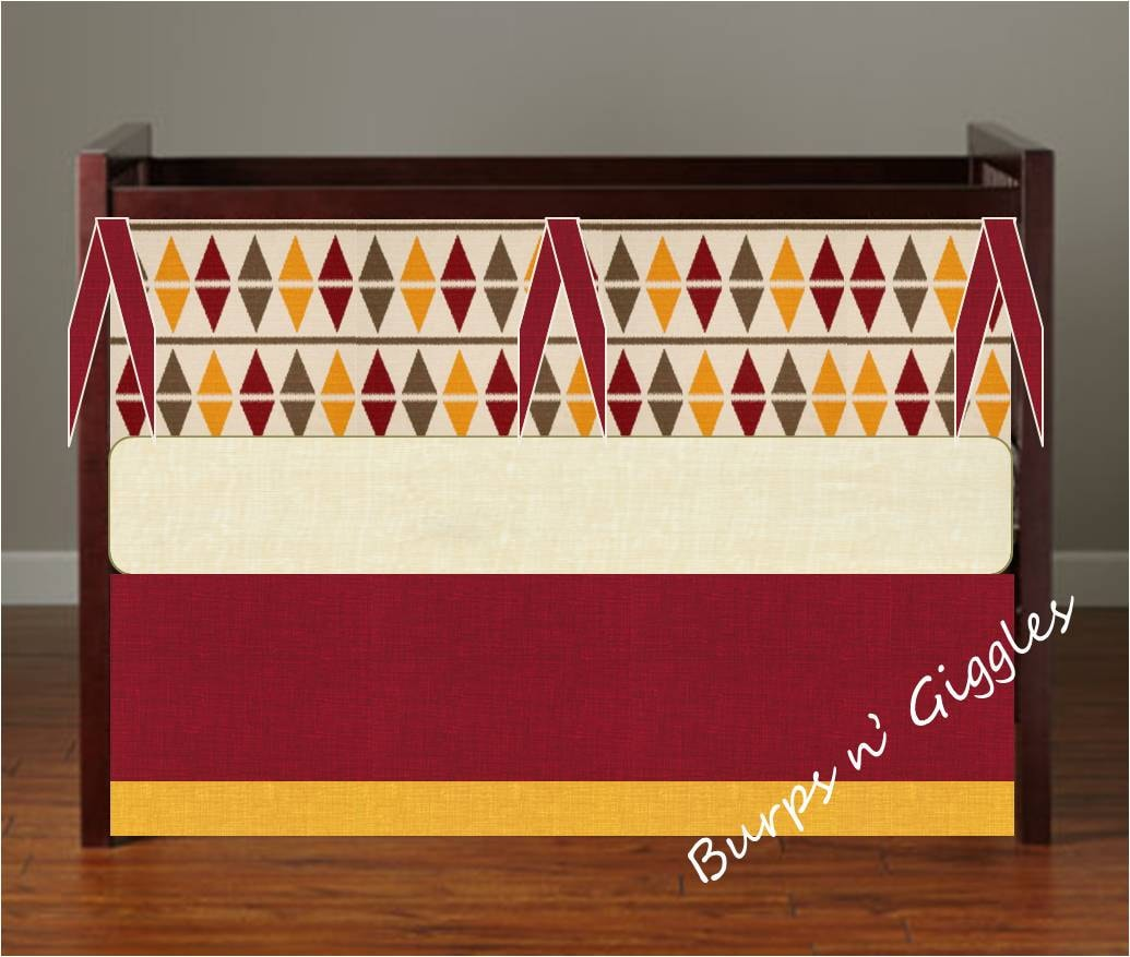 Harry potter gryffindor baby crib bedding by littleburpsngiggles - Harry potter crib set ...