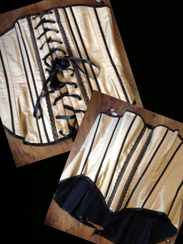 sale uk size 1620 silk steel boned corset prom dress