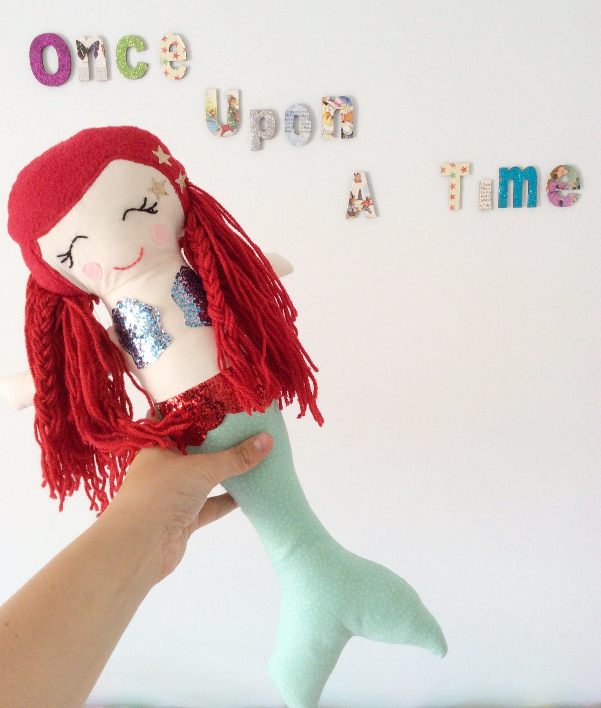 Mermaid gift Mermaid soft doll toy