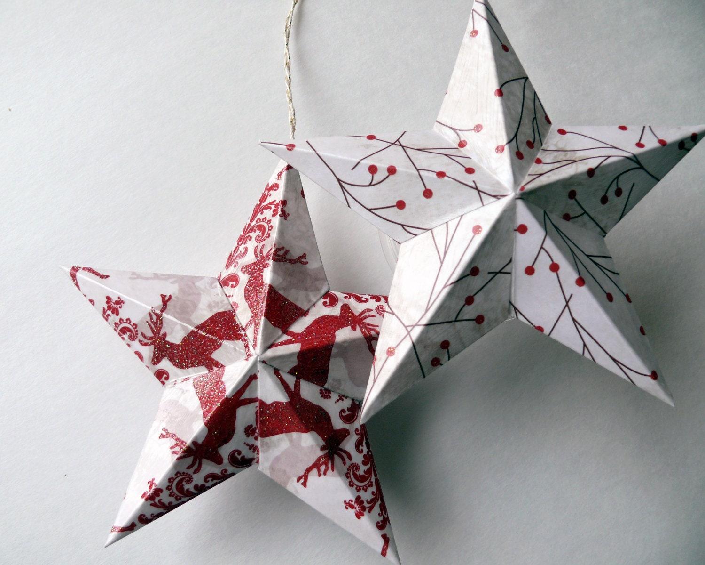 Звезда из бумаги своими руками из бумаги