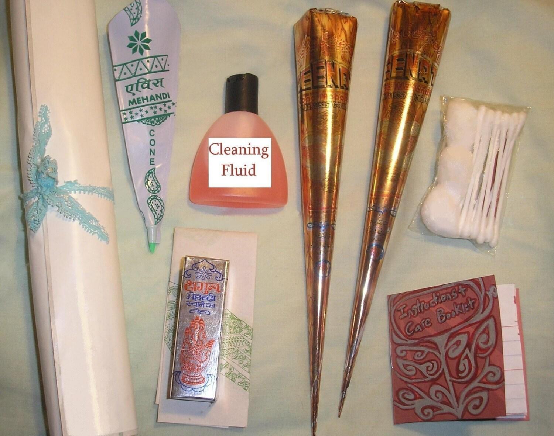 Henna tattoo starter kit by glasskitten on etsy for Henna tattoo kits target