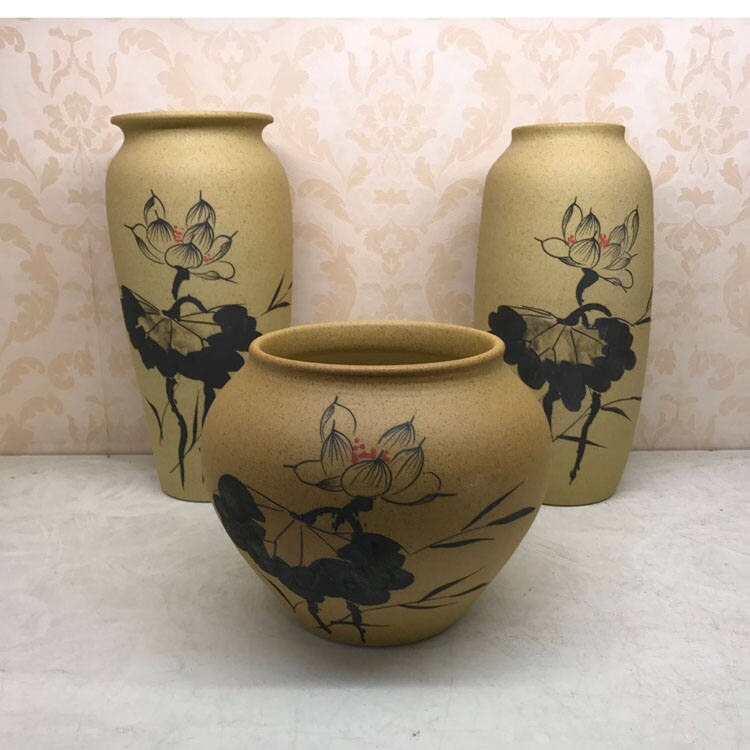 Handmade Pottery Pot Pottery Jar Ceramic Vase Decoration Flower Vase Stoneware Gift Present housewarming