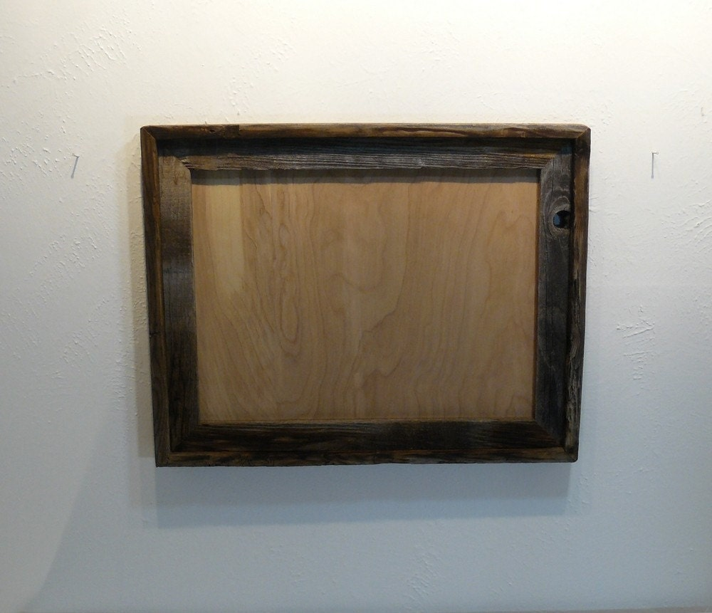 Rustic Barnwood Picture Frame 12x16 Free Shipping By