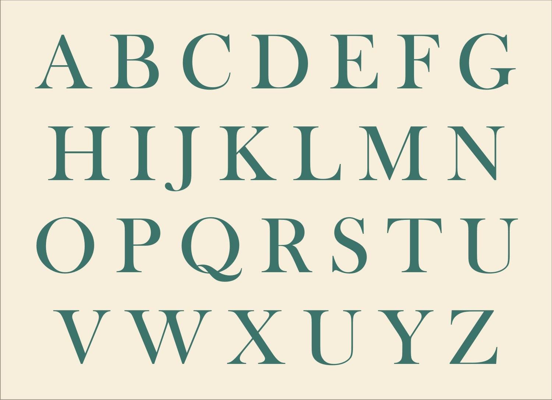 Large Alphabet Stencils