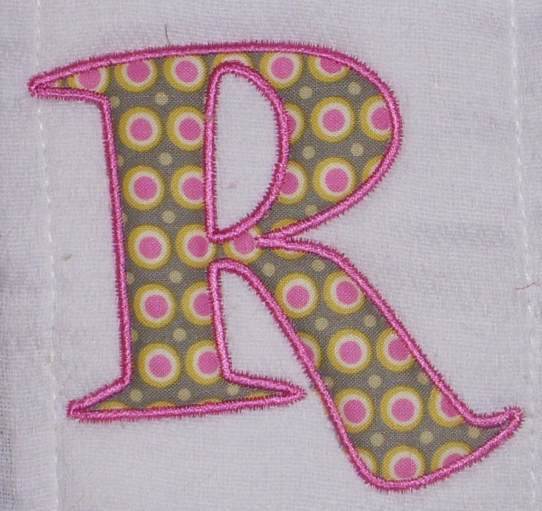 Free Applique Letters For Machine Embroidery