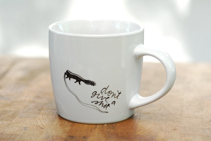 Honey Badger Don't Give A S//t mug - Honey Badger series
