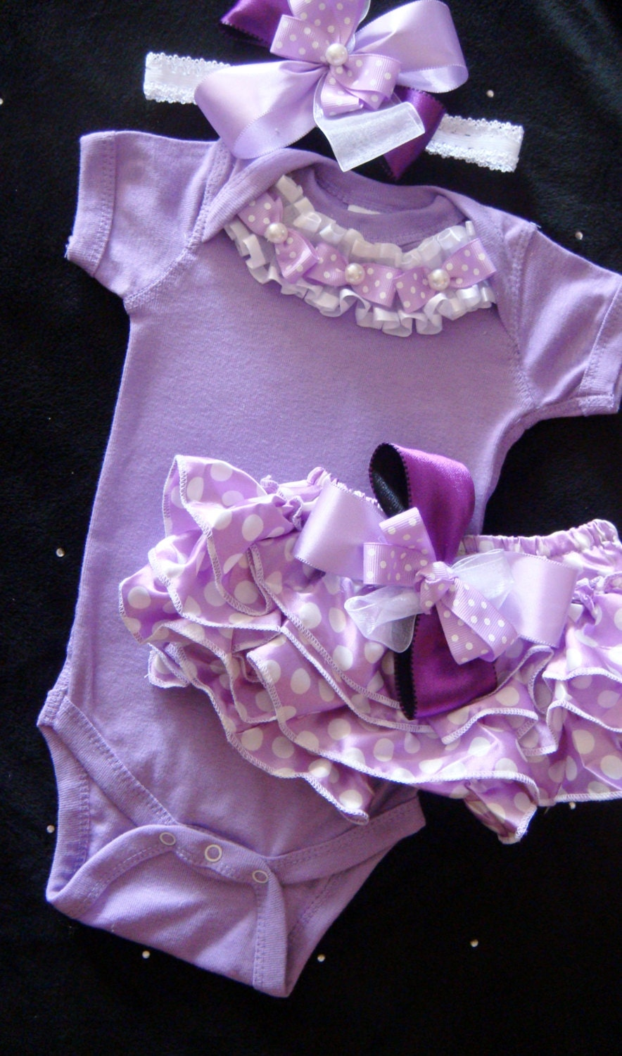 Baby Girl Purple Outfits 88