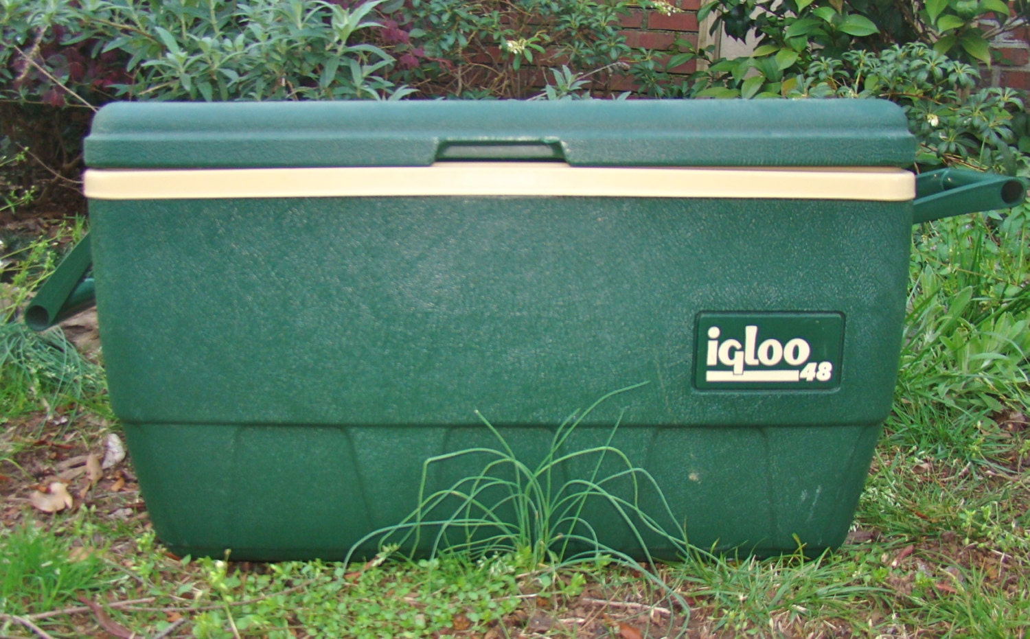 Vintage igloo sportsman ice chest cooler with by thegrayfedora - Igloo vintage ...