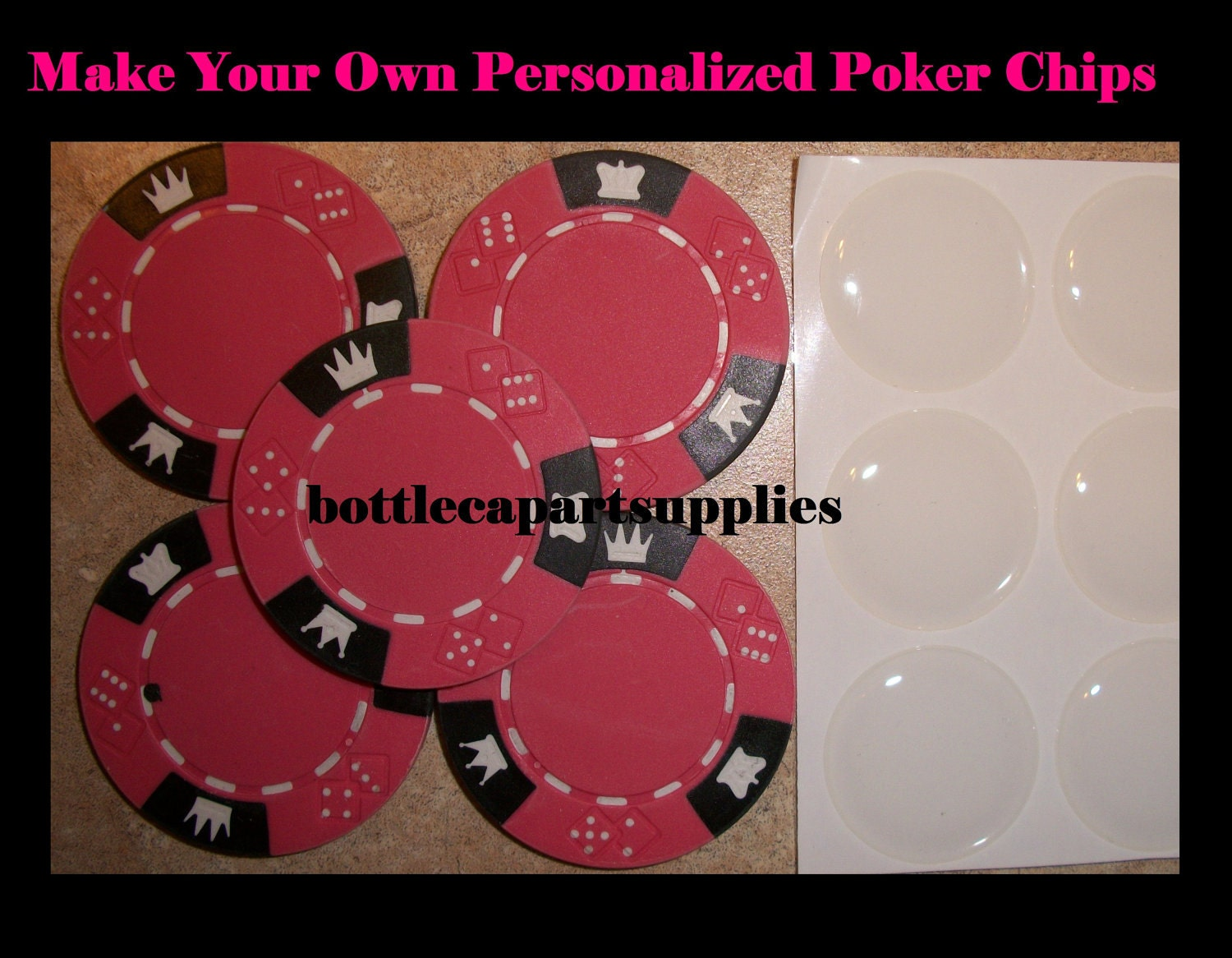 How to make your own custom poker chips