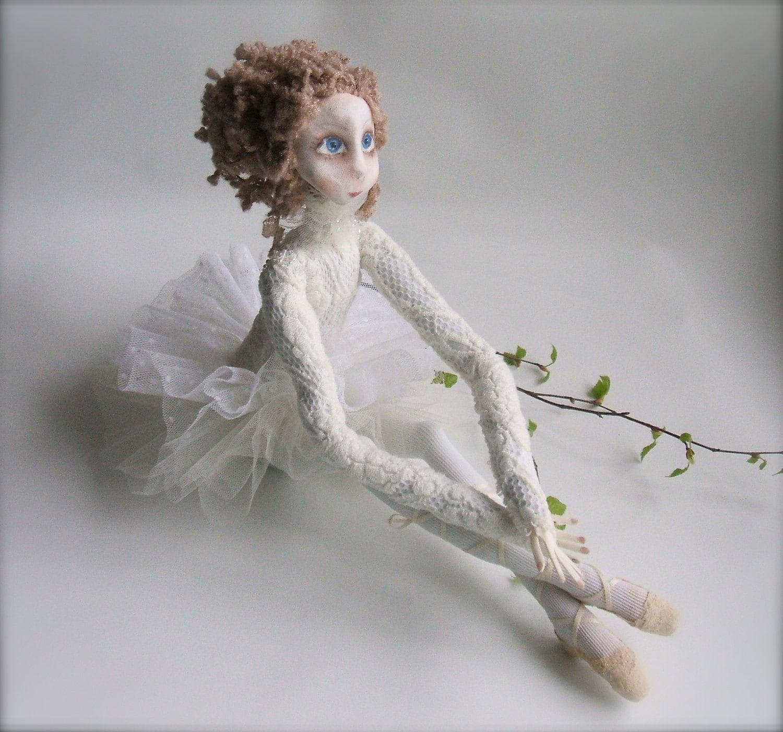 """OOAK art doll  """"Ballerina"""""""