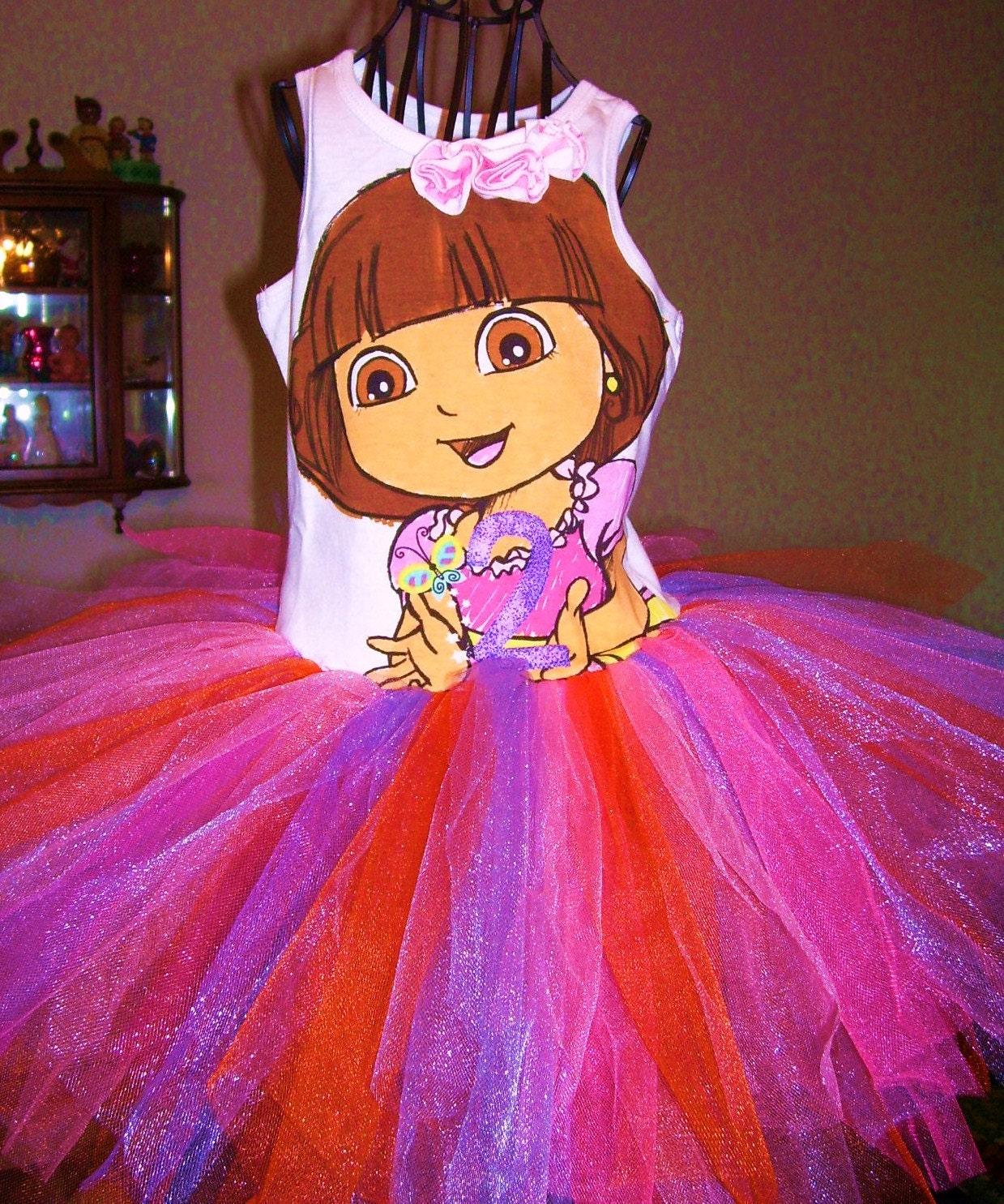 DORA the Explorer Tutu Dress Size 12 months by