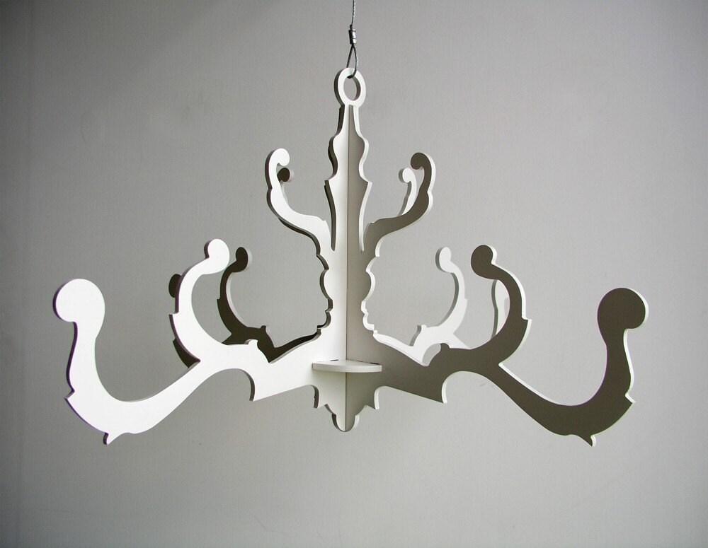 чертежи лампы из фанери
