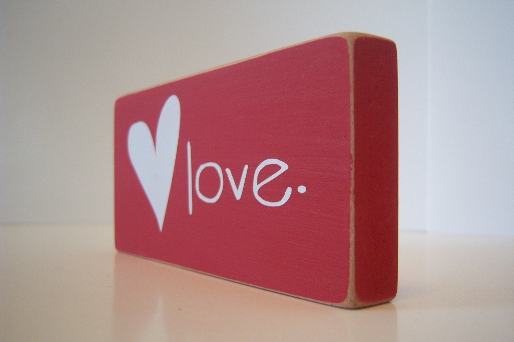 Love and Heart. Home Decor.