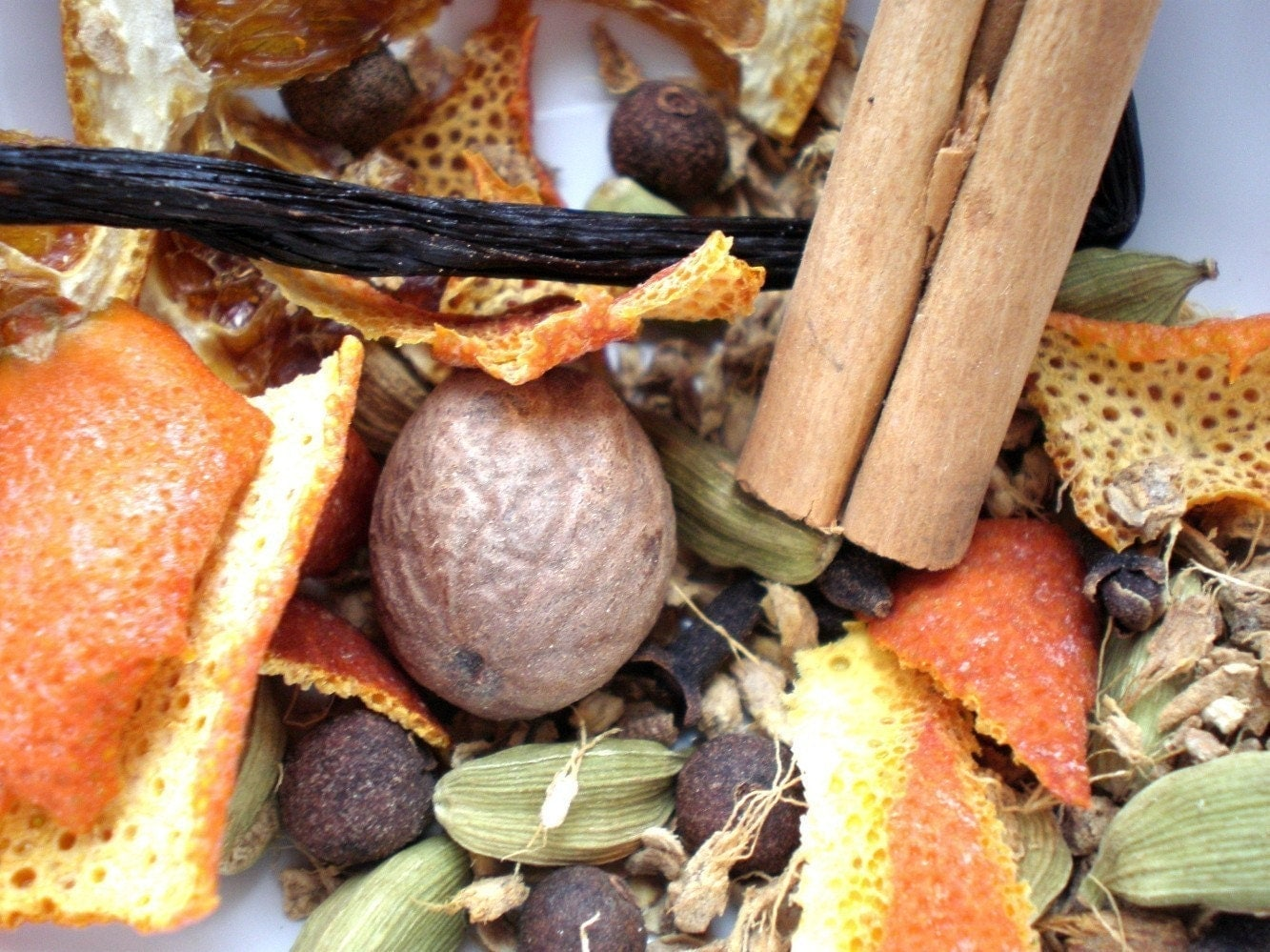 ORGANIC mulled wine spice mix - Two Sachets - also yummy in white wine, apple cider or honey