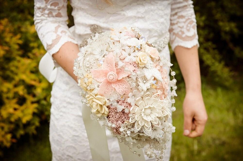 Vintage Bridal Bouquet Etsy Wedding Brooch By Hairbowswonderworld