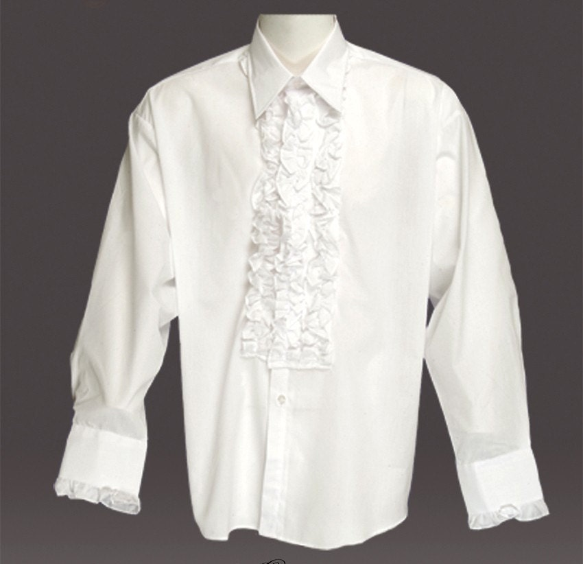 Unavailable listing on etsy for Frilly shirts for men