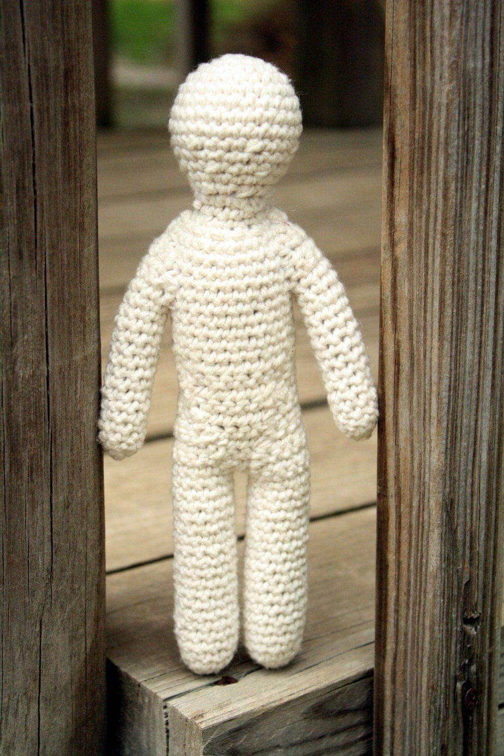 Crochet Amigurumi Doll Body : Items similar to One-Skein Doll Body Amigurumi Style (PDF ...