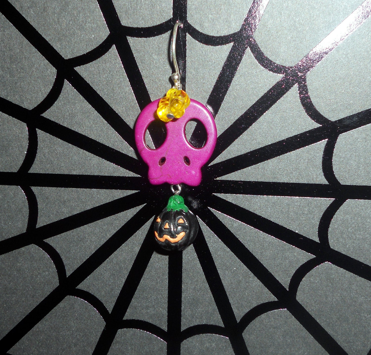 Purple Skull Delight Earrings
