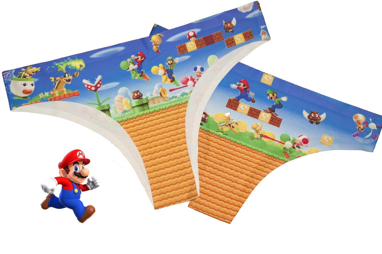 Mario Run Underwear  Mario Panties  Womens Underwear  Nintendo Undies  Geeky Panties  Mario Run Android Knickers  Cool Underwear NES