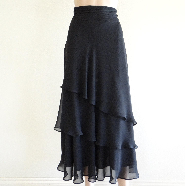items similar to black skirt maxi skirt evening skirt