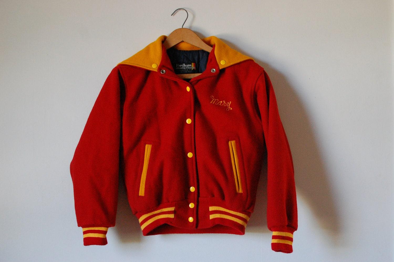 varsity jacket / cheerleader jacket / letterman jacket - pennywhale