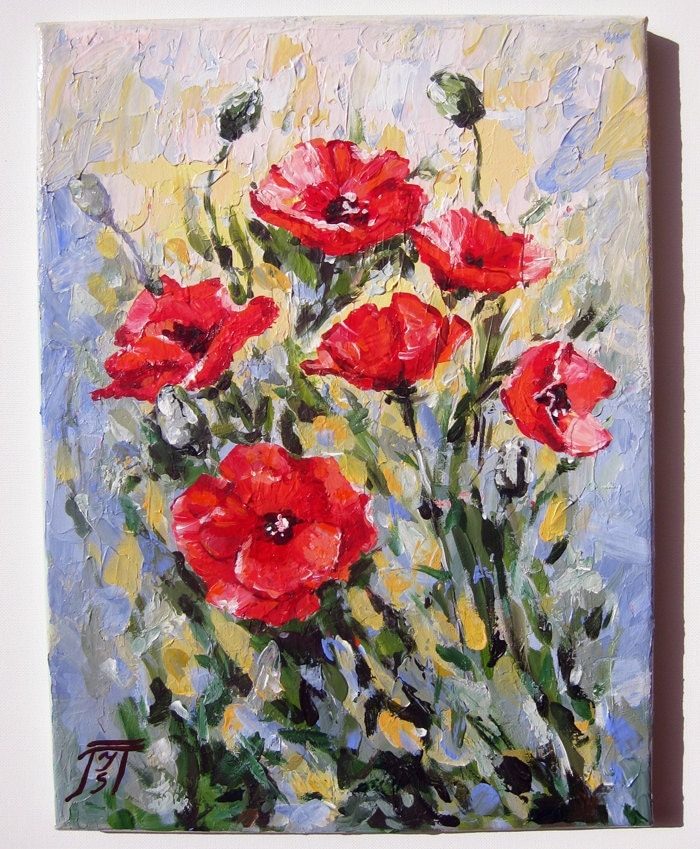 Palette knife paintings on canvas and acrylic paintings for Palette knife painting acrylic