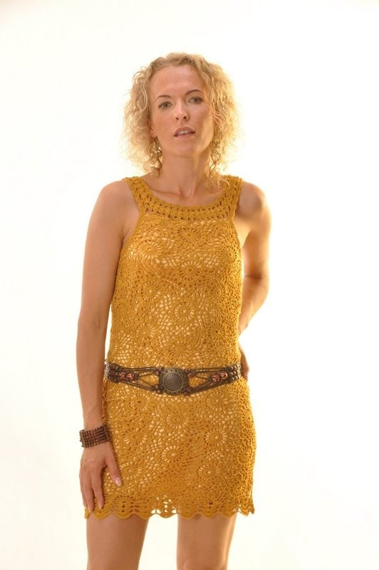 Sexy gold  dress (Custom) - dosiak