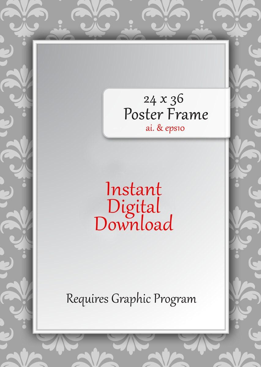 26 x 36 poster frame