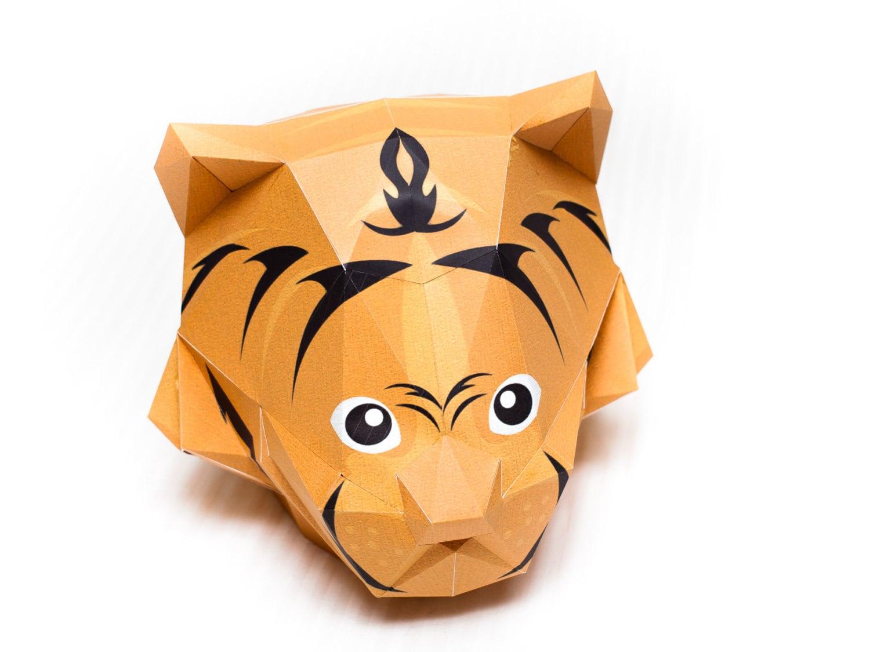 Cardboard Animal Mask Template
