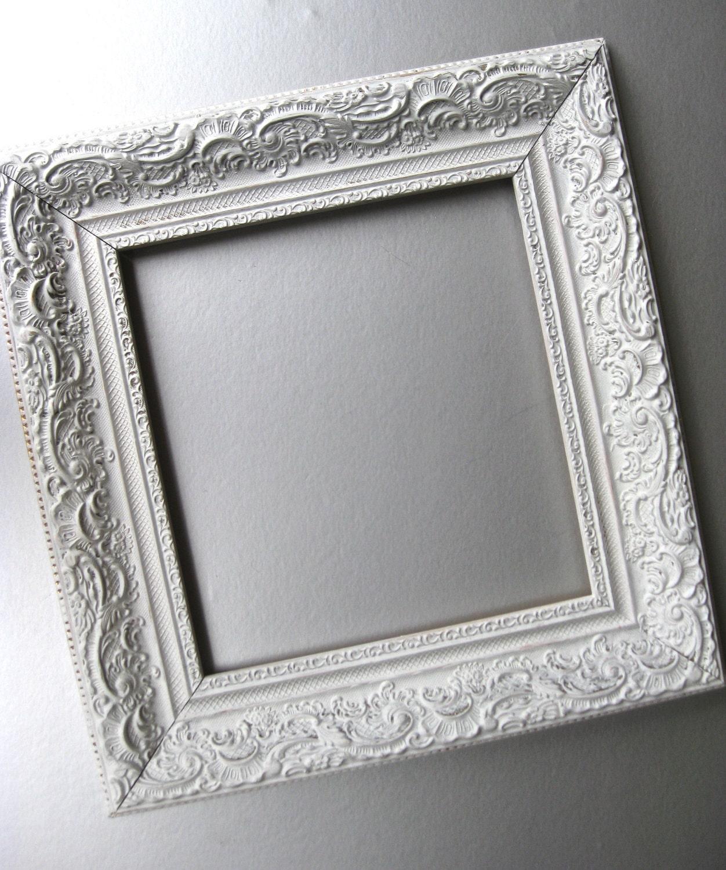 Vintage White Frame : Shabby and Chic Frame Cottage Frame White Frame Vintage by Swede13