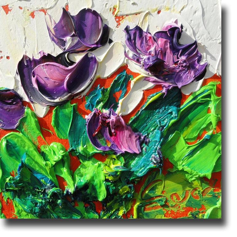 abstract cactus painting original fine art b sasik by bsasik