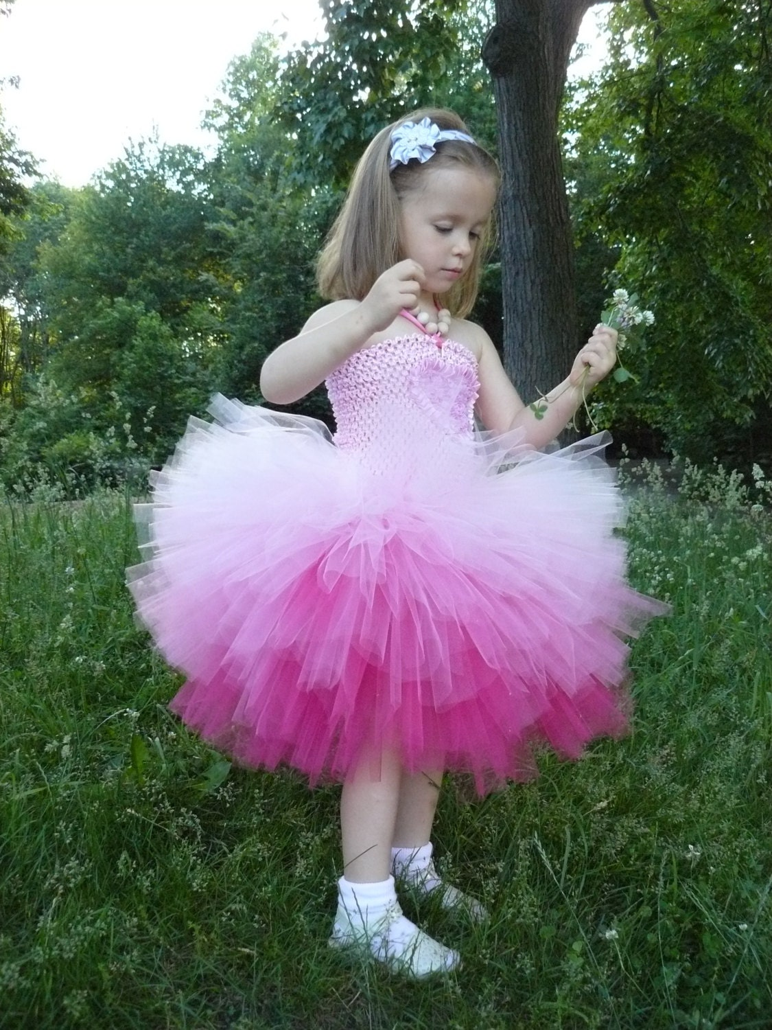 Popular items for pink tulle dress on Etsy