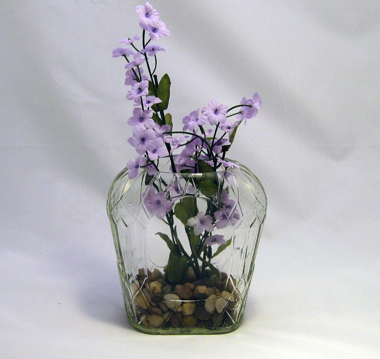 Items similar to liquor bottle vase crown royal on etsy for Liquor bottle vases