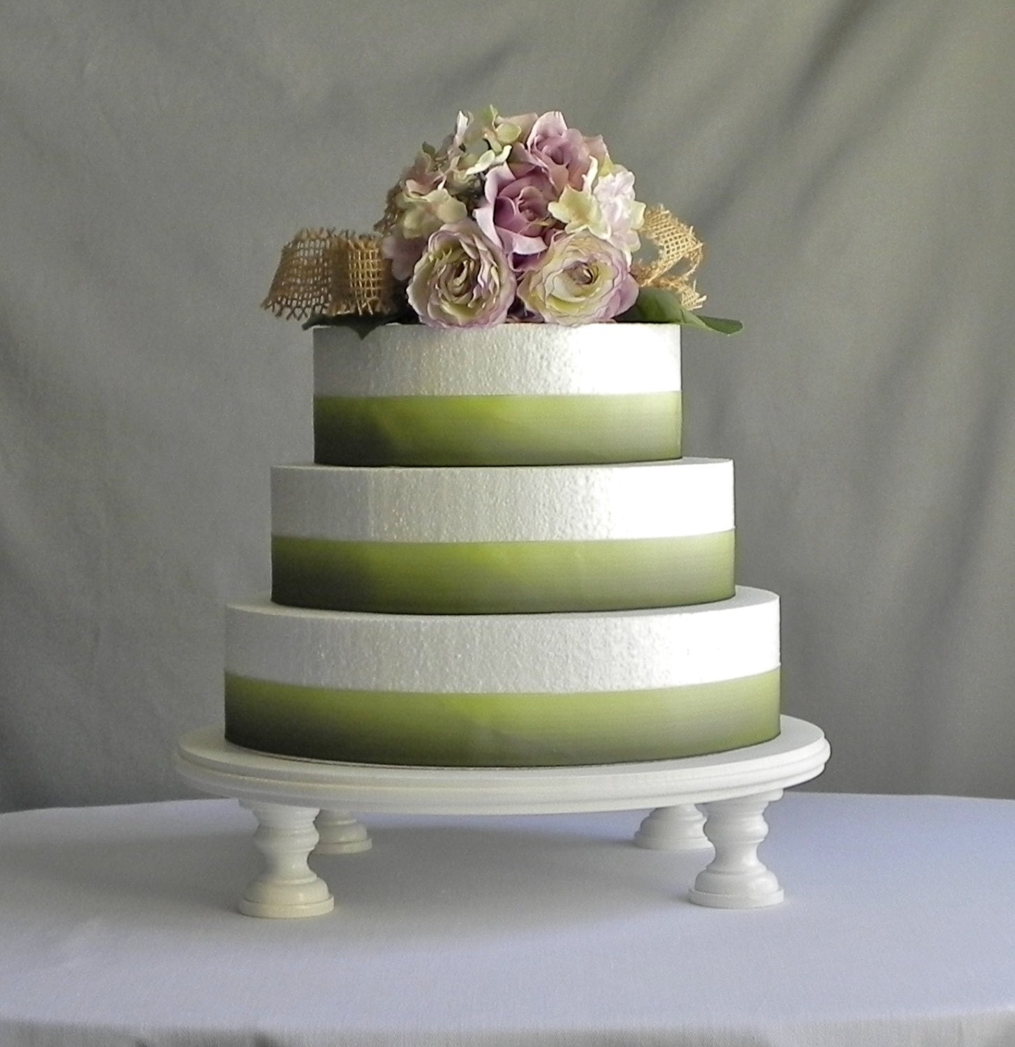14 ANY COLOR Wedding Cake Stand Cupcake White by