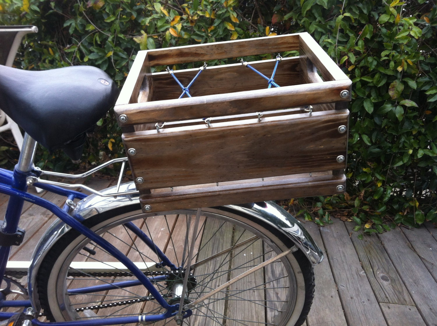 how to put a basket on your bike