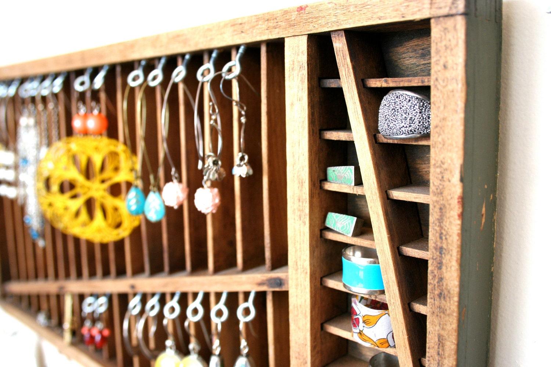 jewelry display: vintage quartersize letterpress drawer - LegalMissSunshine