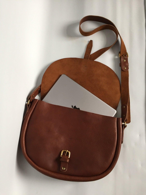 Large tan leather saddle bag handbag tan leather satchel large tan leather purse tan leather shoulder bag tan leather messenger saddle