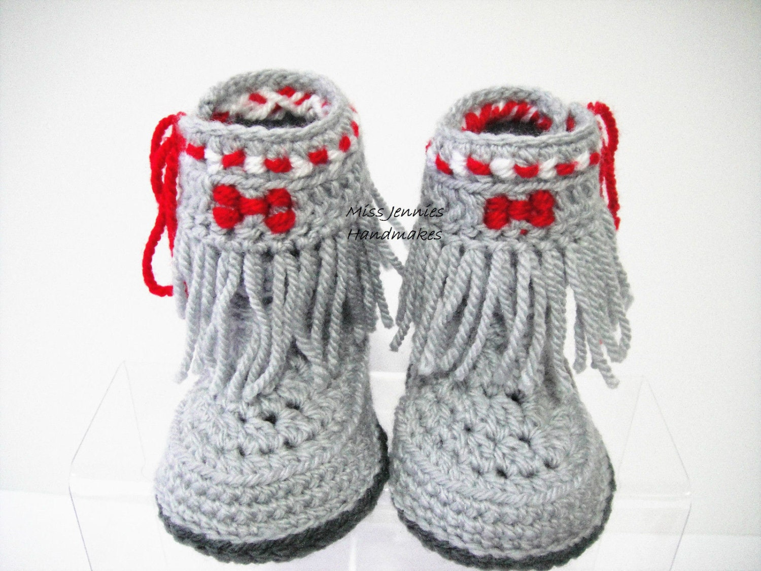 Native American Style Babies Shoes