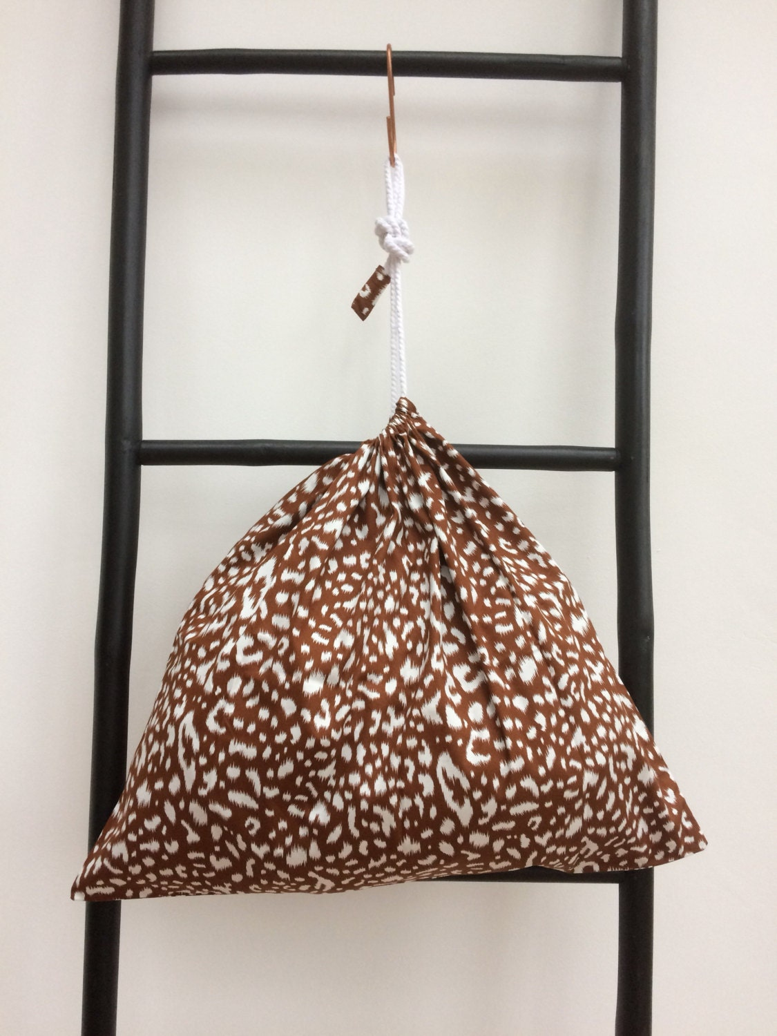 SALE  Cotton Drawstring Bag  A Bag For All Reasons