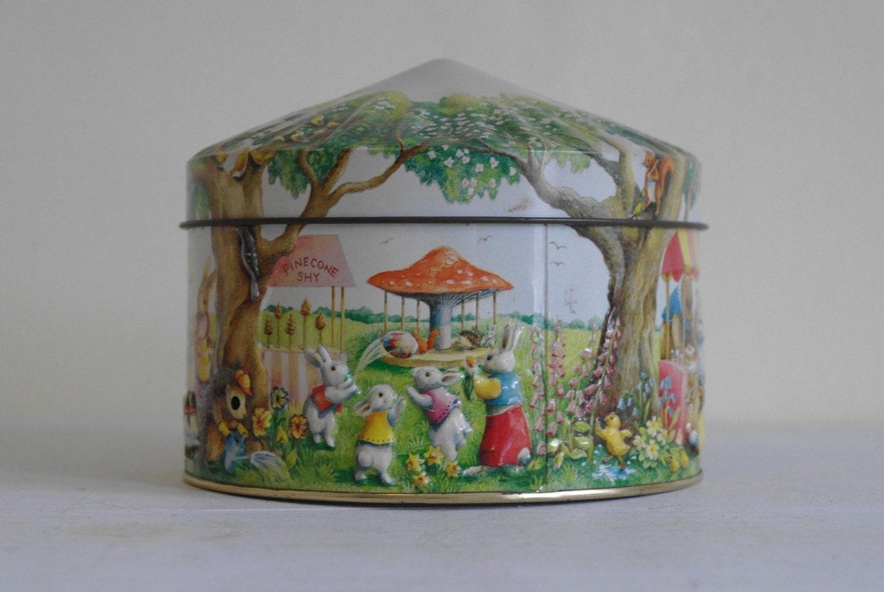 Vintage Village Fair Tin by Churchill  Churchill Tin