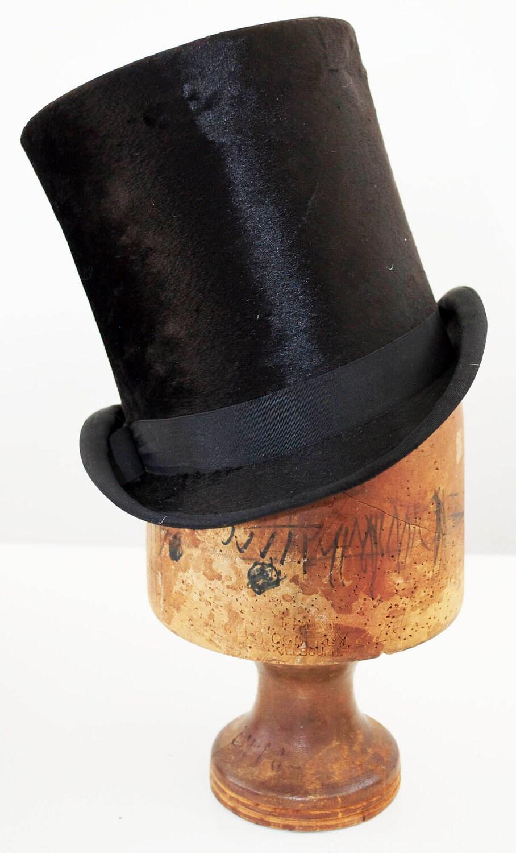 vintage beaver top hat