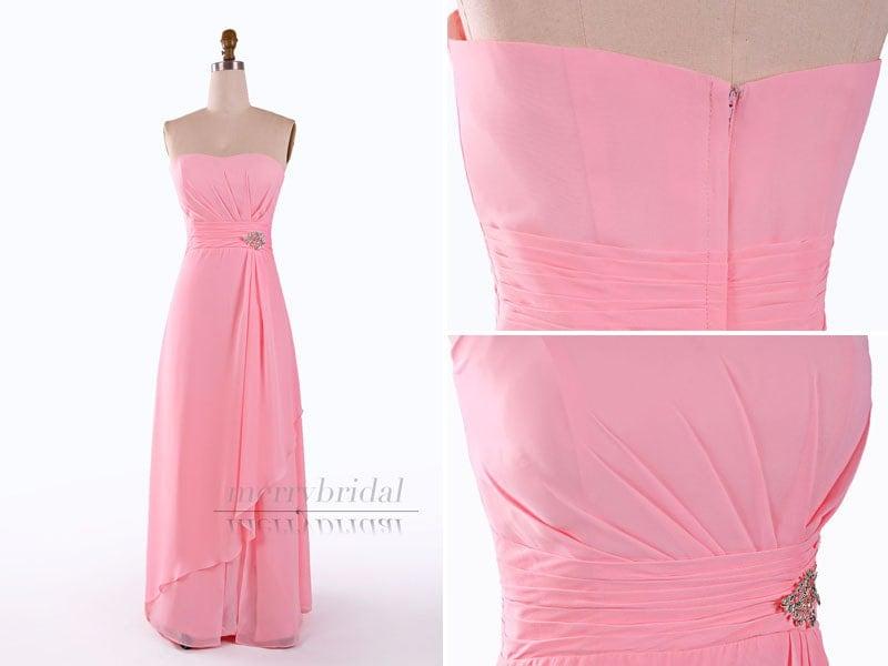 Wedding dress bridal gown 2015 new pink prom dress elegant party dress