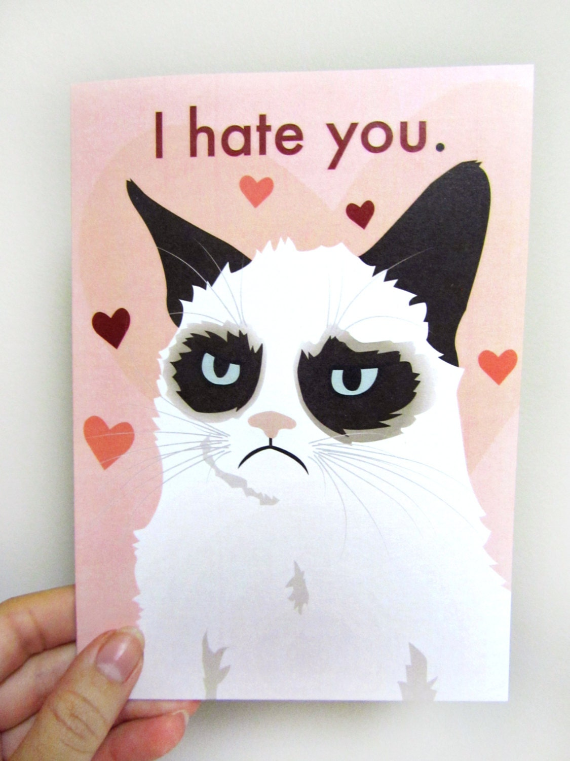 grumpy cat thank you card images amp pictures   becuo
