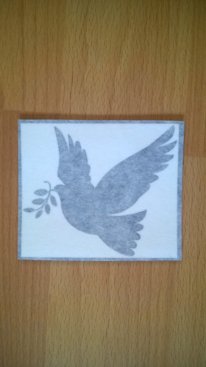 SALE DECALS  Doves of Peace   Wall Art  Decal  Sticker  7.9cm x 6.8cm  Black  Only 6 Available Walls Laptops Doors Tablets Phones