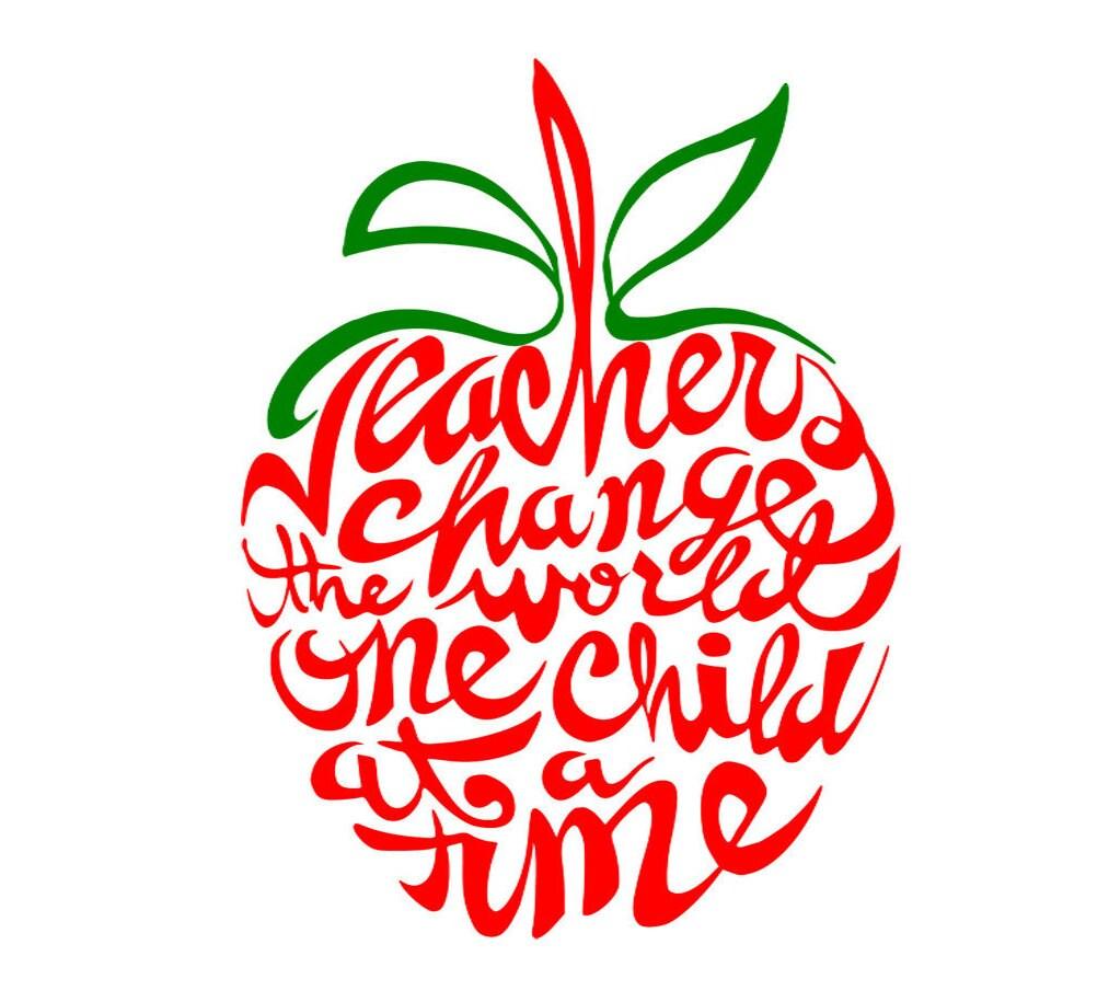 Education - Teachers, apple