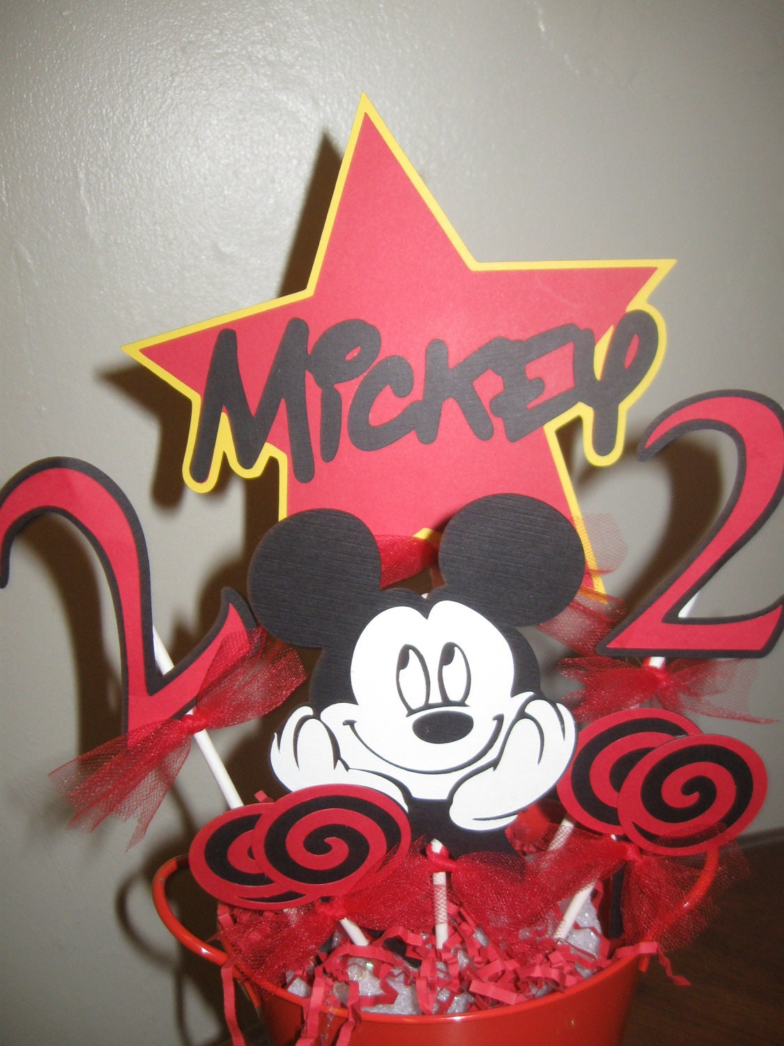Popular items for mickey centerpieces on Etsy